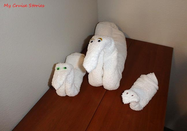 making towel ducks