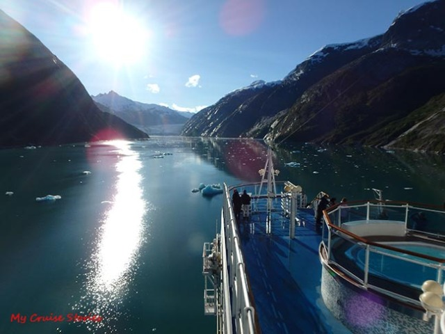 cruising Endicott Arm
