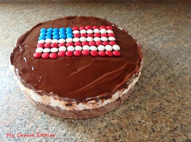 easy ice cream cake