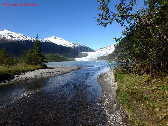 river near Mendenhall Glacier