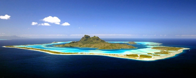 island of Bora Bora