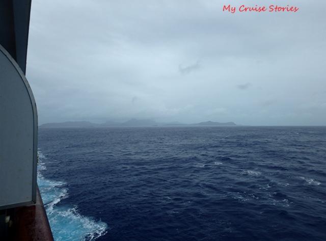 Bora Bora in the mist