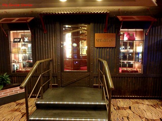 cruise ship cigar bar