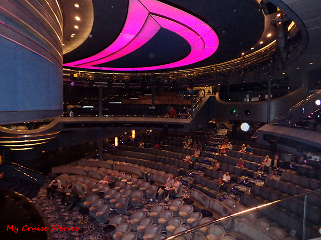cruise ship theater