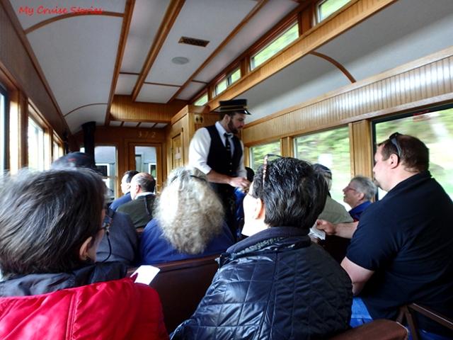 train ride in Skagway