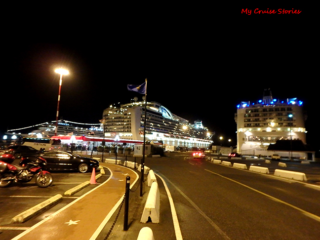Victoria cruise port
