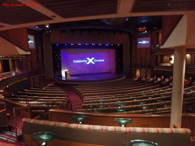 cruise ship theater