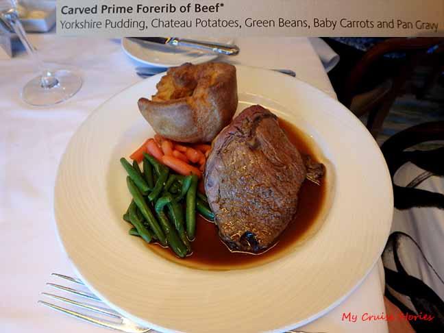 British dinner