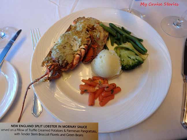 formal night lobster