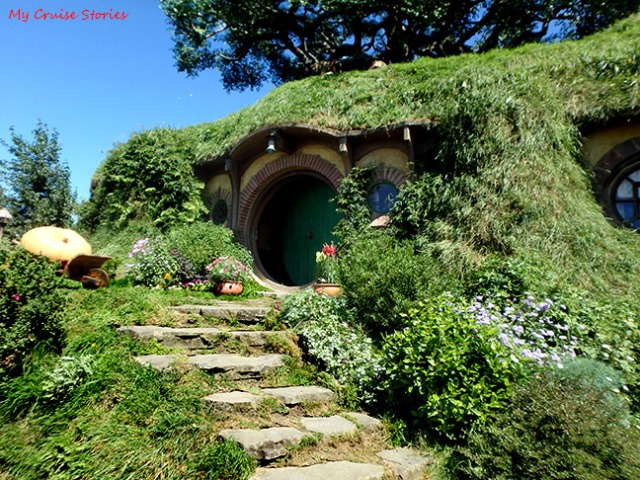 Bag End on top the hill