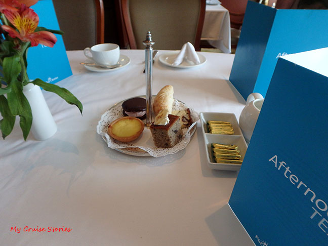 cruise ship afternoon tea