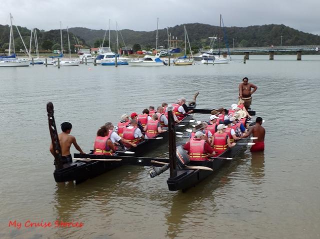Maori canoe