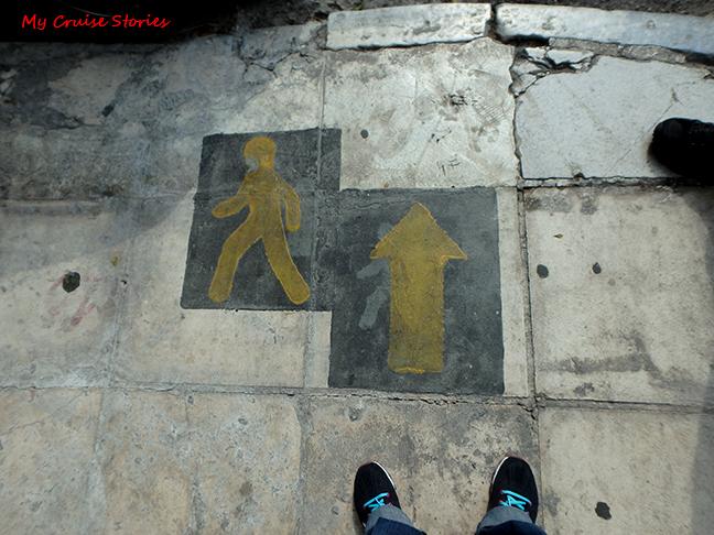 tourist walk
