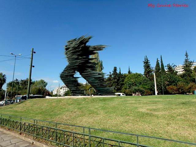 modern statue