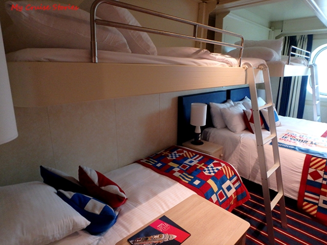 5 person cruise ship cabin
