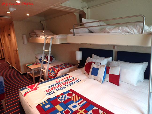 5 passenger cabin