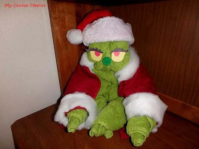 towel Grinch