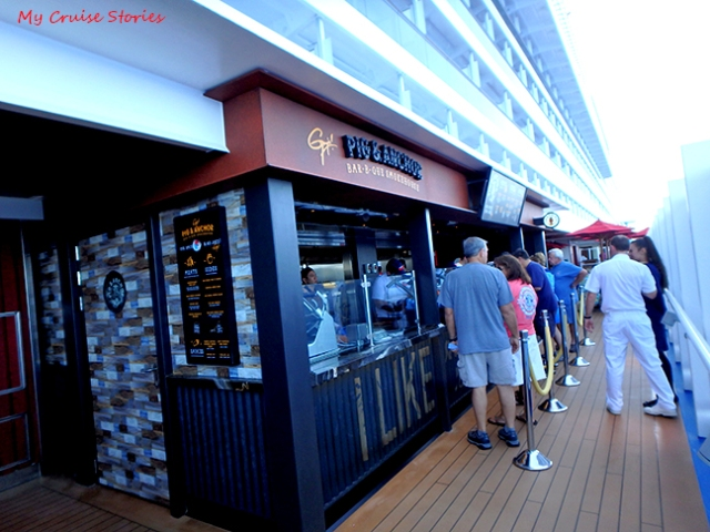 cruise ship barbeque