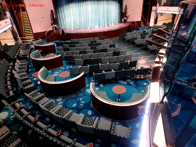 Carnival Vista theater