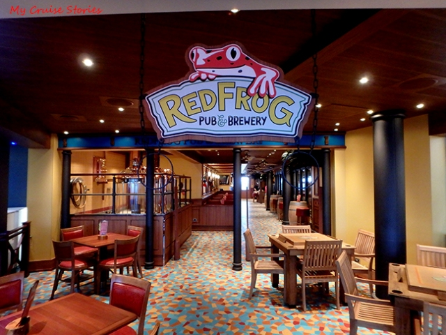Red Frog Pub on Carnival Vista