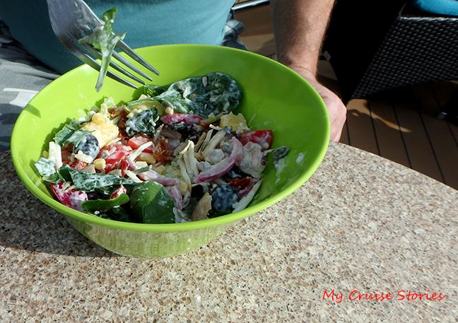 cruise ship salad