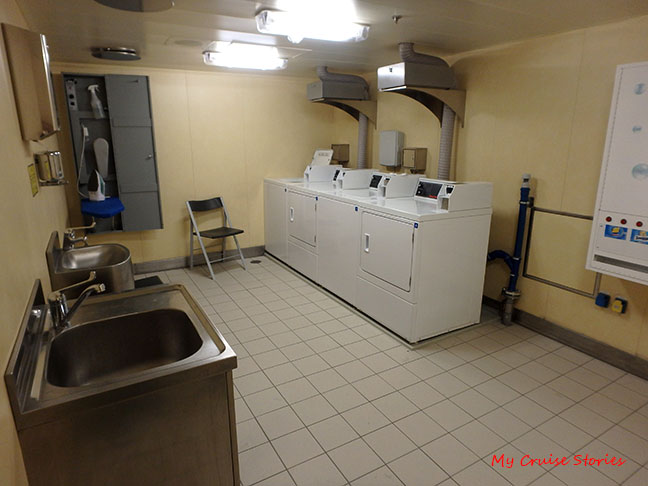 cruise ship passenger laundry