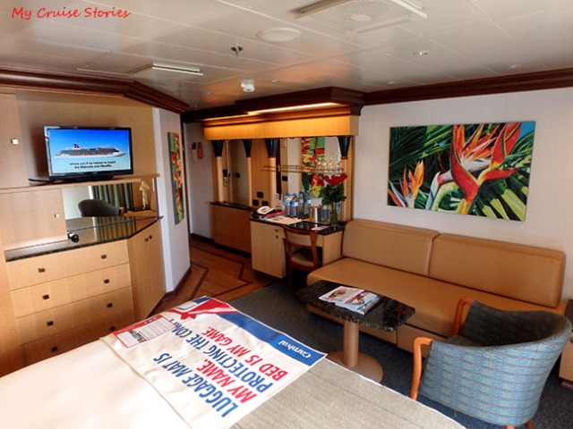 suite on Carnival Magic
