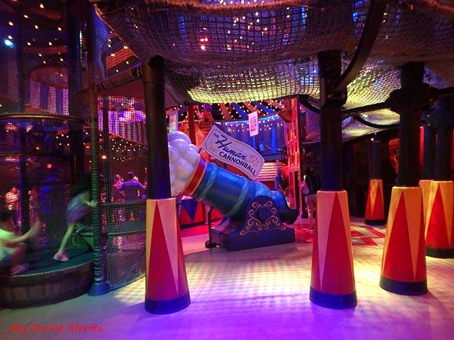 Dumbo ride playground