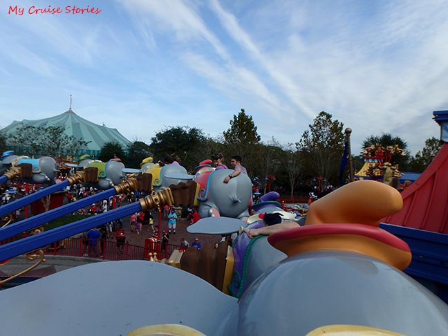 Disney's Dumbo ride