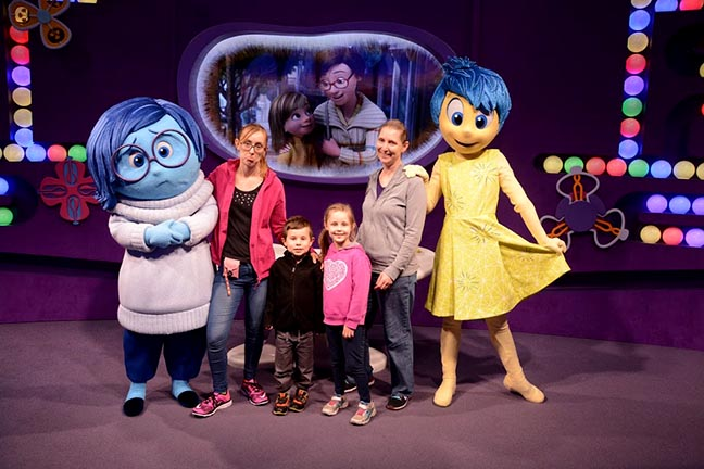 Disney character meet