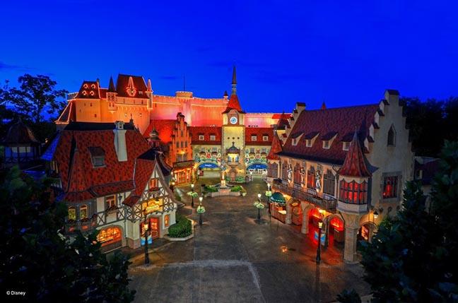 Norway at Disney World's Epcot