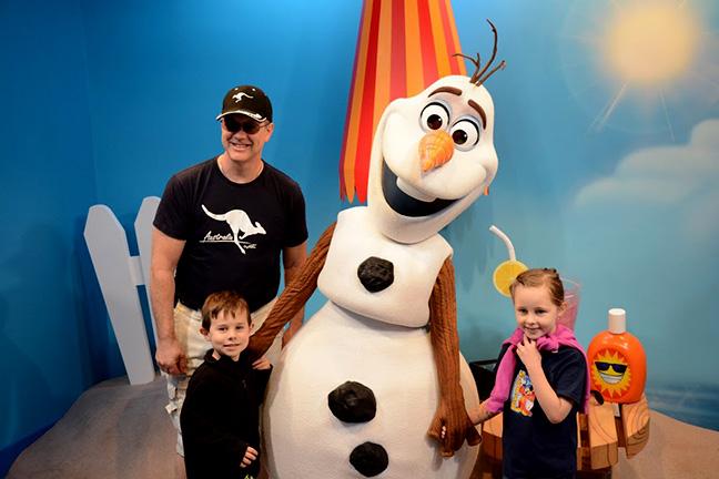 Olaf at Disney World