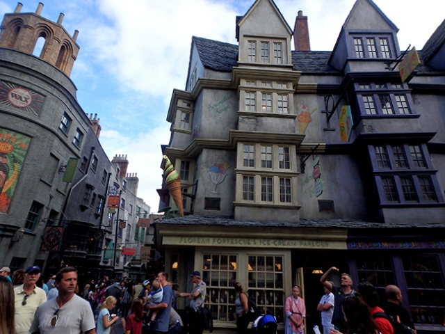 Diagon Alley at Universal