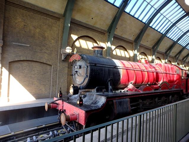 Hogwarts Railway, Universal studios