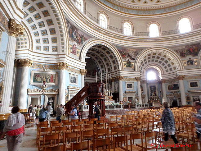 Mosta dome church