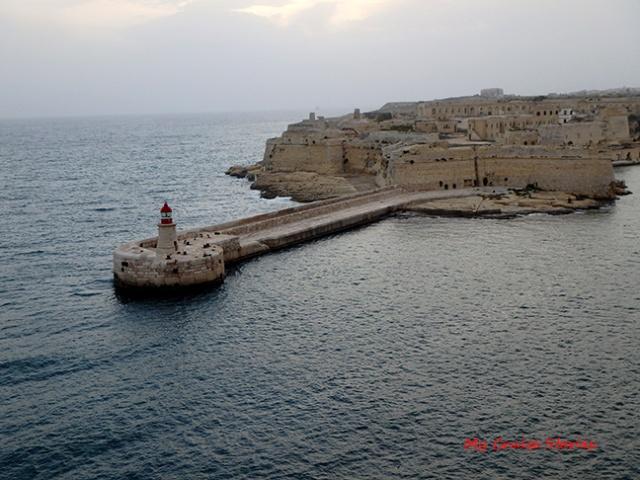 lighthouse at Malta