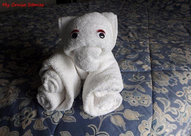 easy towel bear