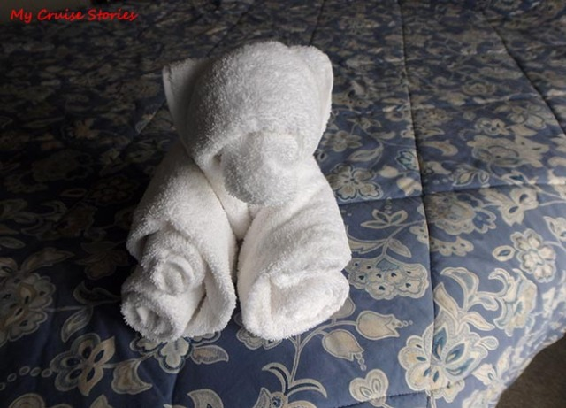 towel bear