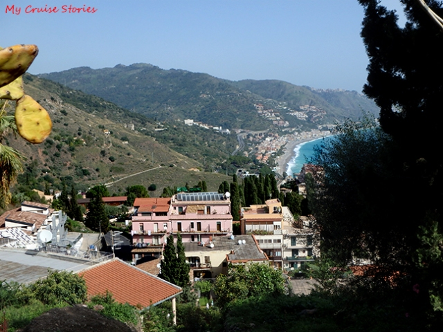 view in Taormina