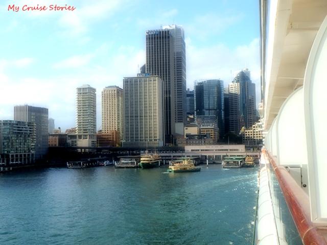 Sydney cruise port