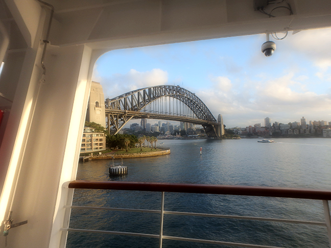 Arcadia at Circular Quay