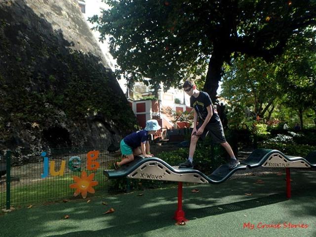 playground in San Juan