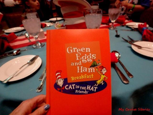 Green Eggs and Ham breakfast