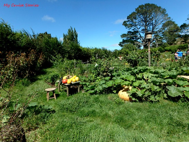 Hobbiton vegetable garden