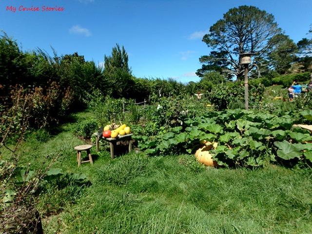 Hobbiton vegetable garden