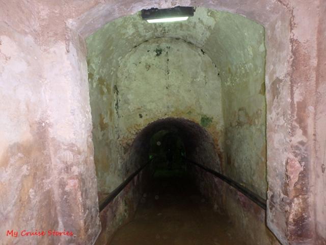hidden places inside El Morro