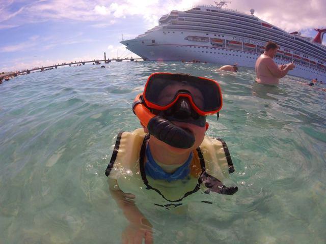 snorkeling in Grand Turk