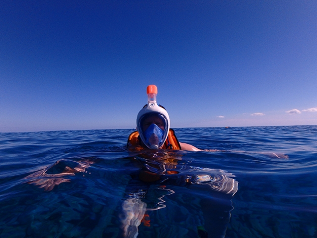Tribord full-face snorkel mask