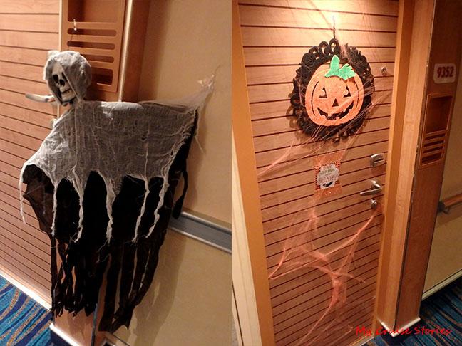 Halloween Door Decorations Cruise Stories