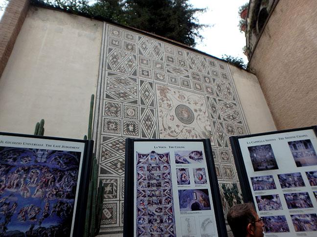 near the Sistine Chapel